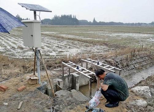 农业灌溉水流量测量