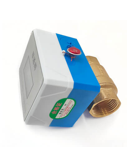 IC卡智能暖气控制阀